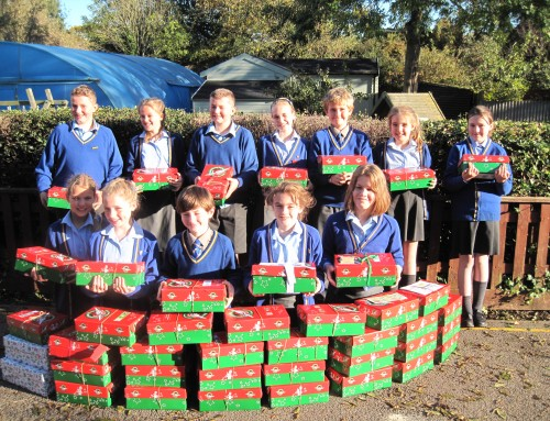Christmas Shoeboxes!
