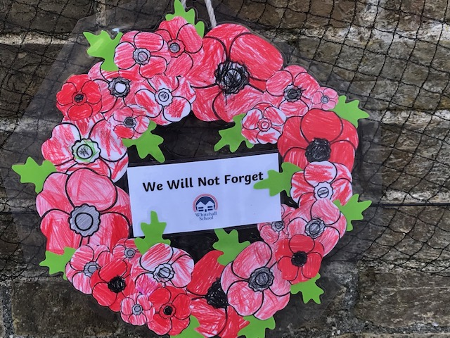 Whitehall Reception Remembrance wreath 2018