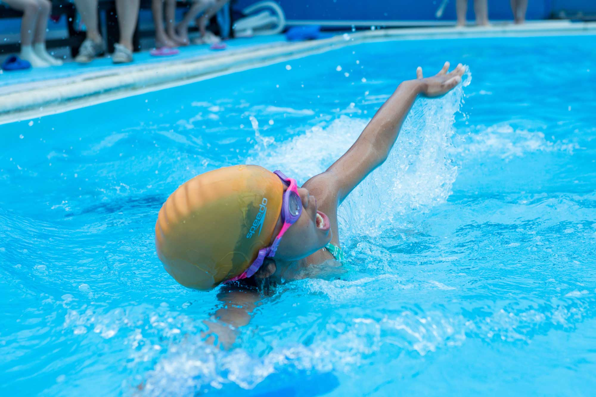 Swimming at Whitehall Independent School