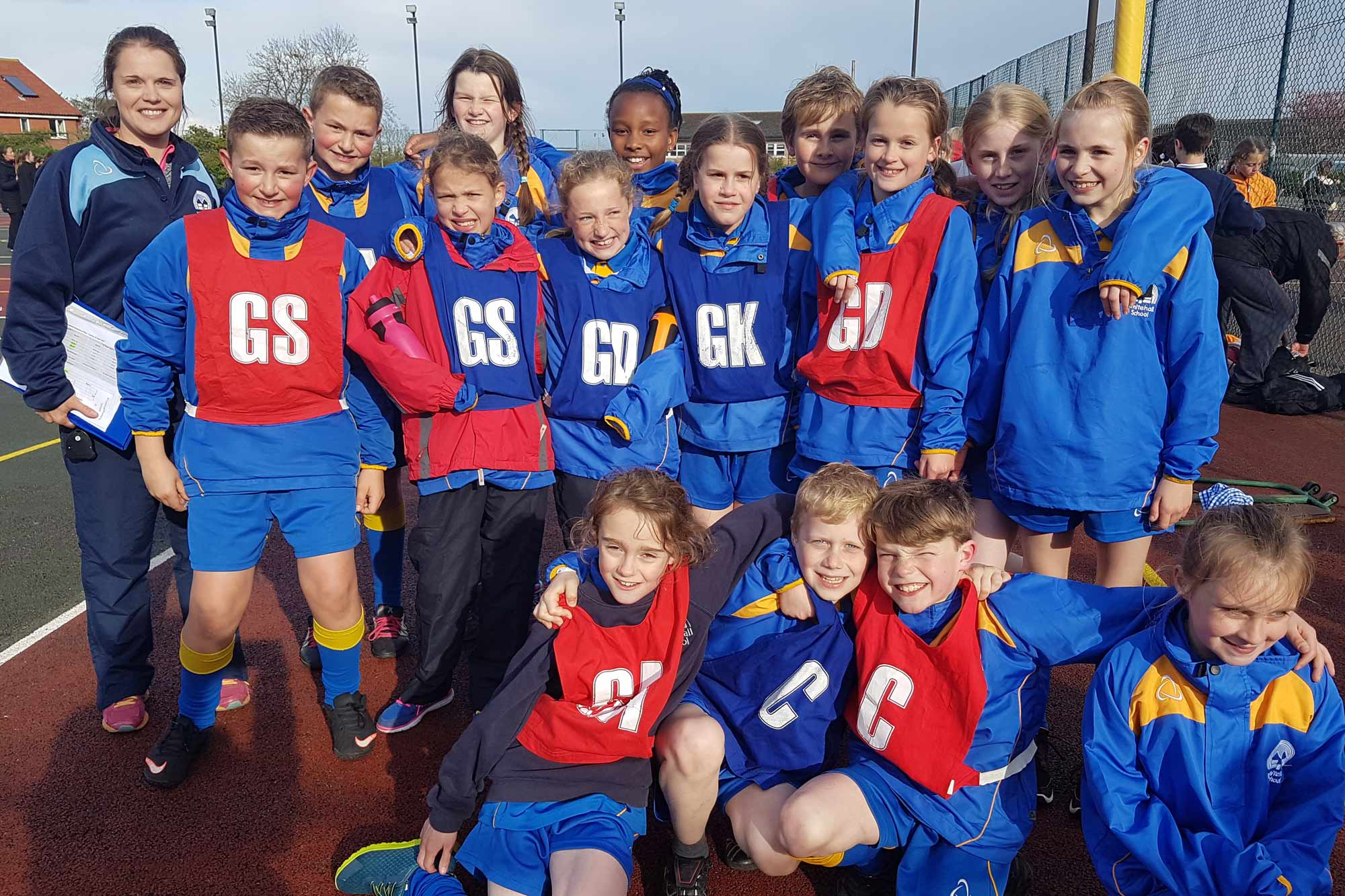 Netball team at Whitehall Independent School