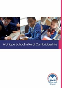 whitehall school prospectus 2020 cover image